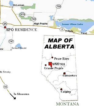 South Peace Outfitters Hunting Area Northwestern Alberta Canada